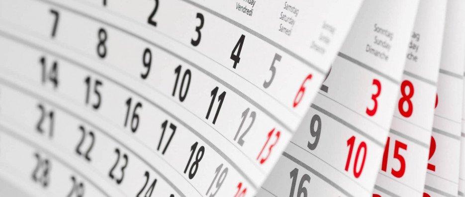 Calendarul estimativ de lansare a sesiunilor de depunere pentru anul 2021 – actualizat la data de 14.09.2021